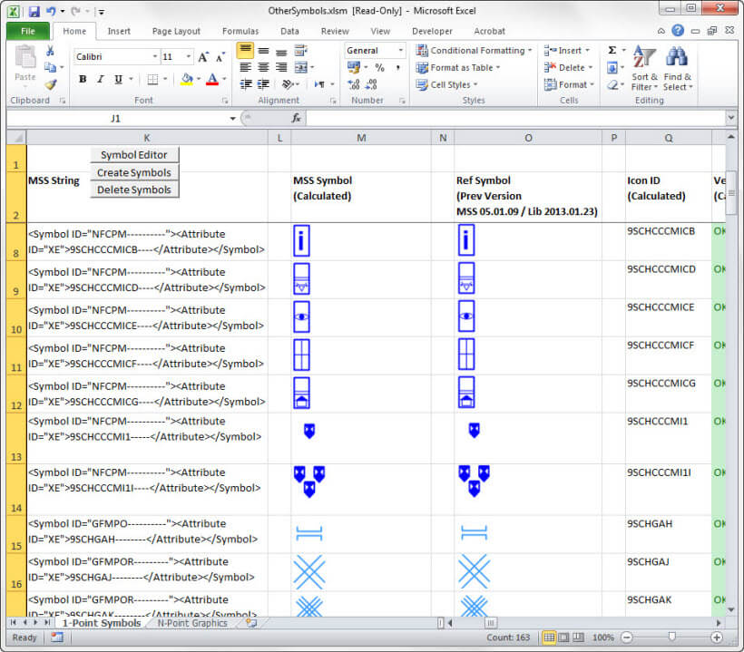 MSS ExcelControlSheet